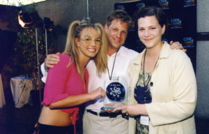 Britney Spears with Eric Schwartzman and Ann Green