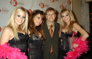 Eric Schwartzman with the Pussycat Dolls