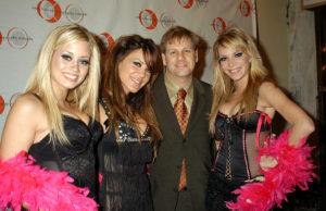 Eric Schwartzman with the Pussycat Dolls