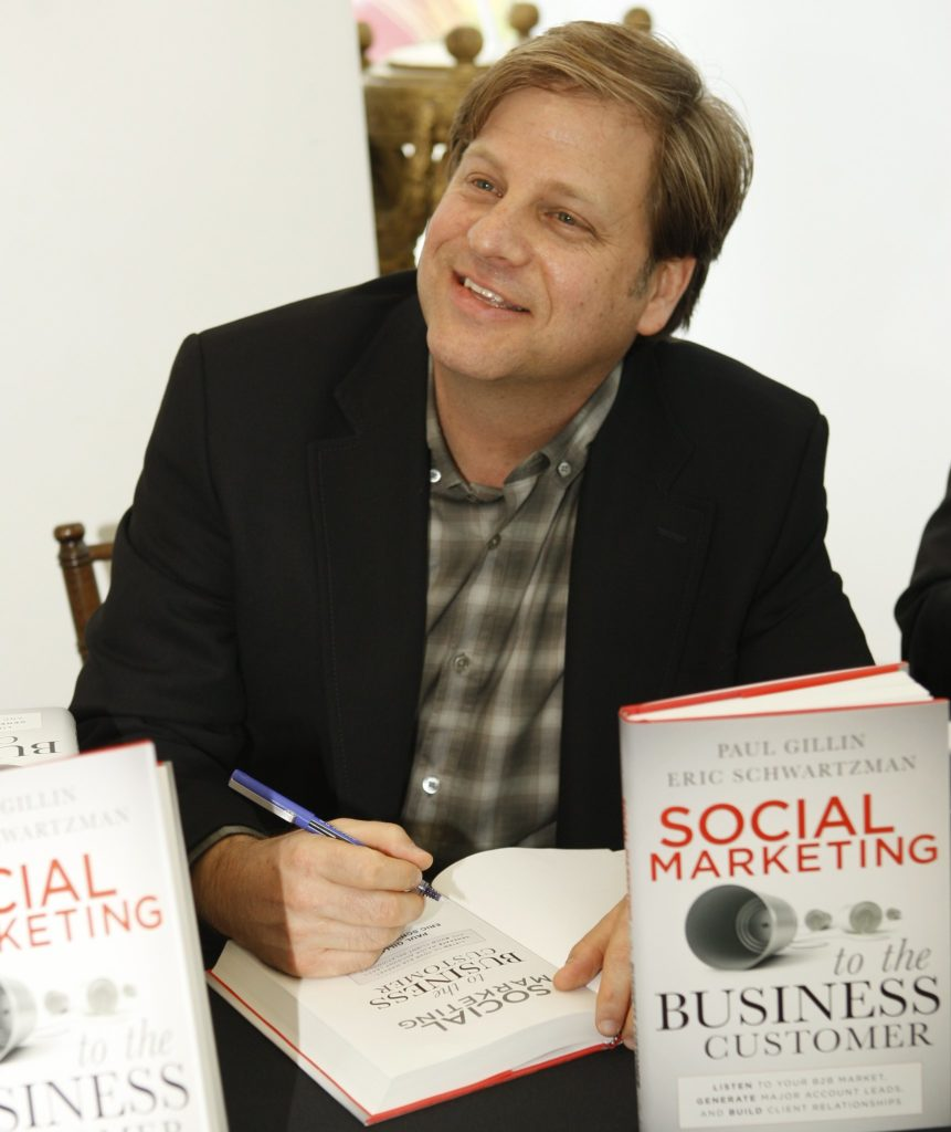 eric signing book