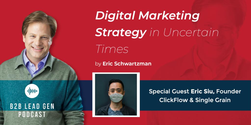 Digital marketing strategy in uncertain times