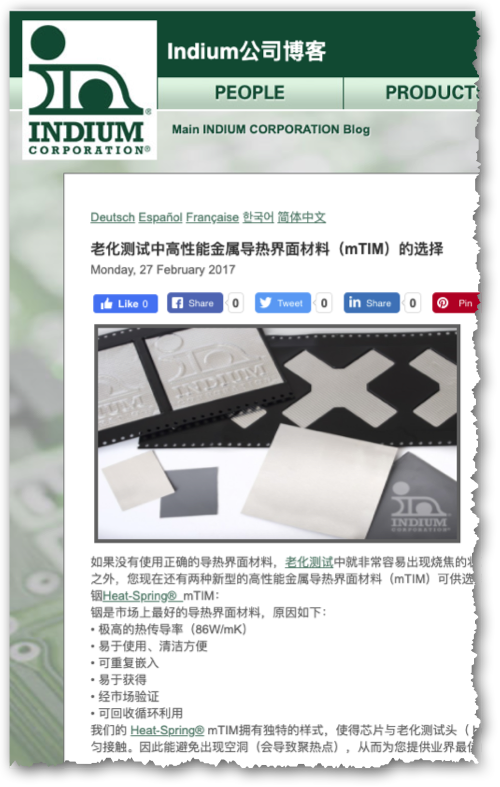 B2B content marketing in Chinese for customers based in China