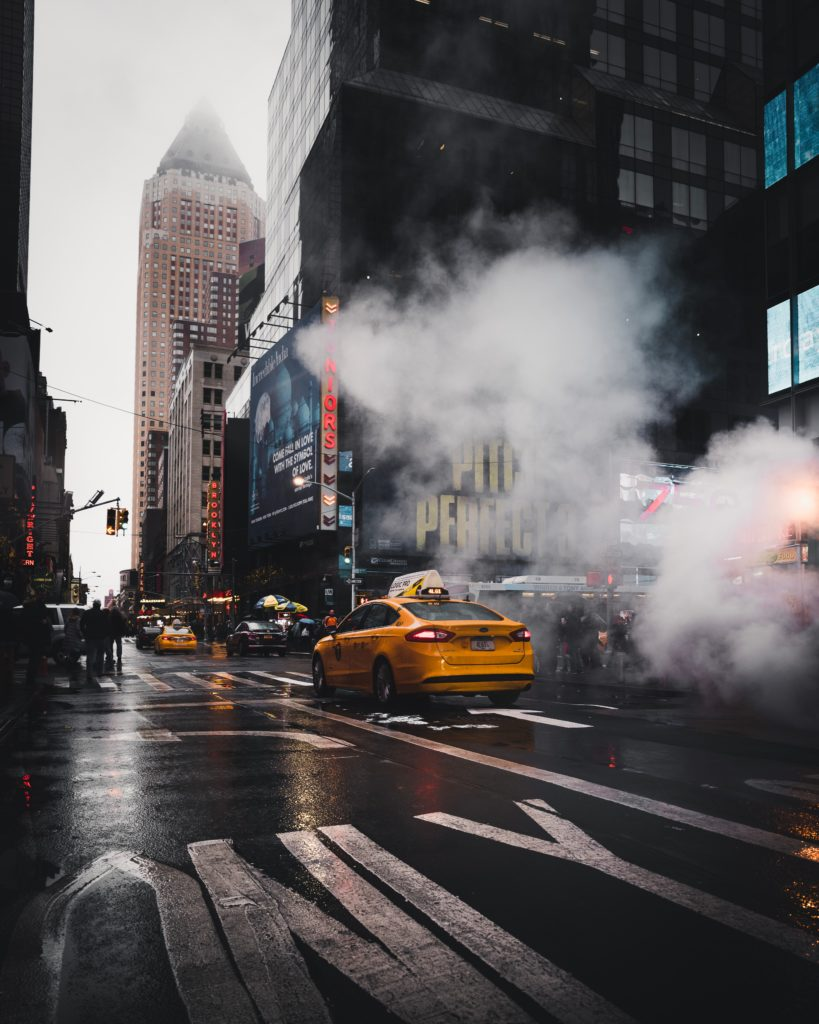 NYC hustle and bustle