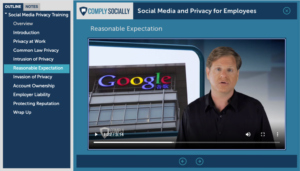 Eric Schwartzman produced a library of digital media compliance training courses