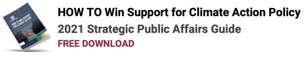 winning support for climate action policy