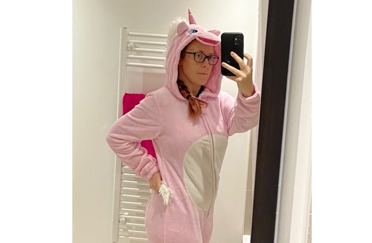 Look! I found a unicorn!